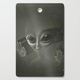 Alien Cutting Board