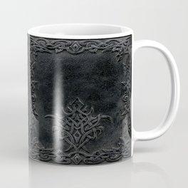 Tribal Edging Book Cover Dark Coffee Mug
