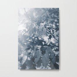 Abide with Me (Blue) Metal Print