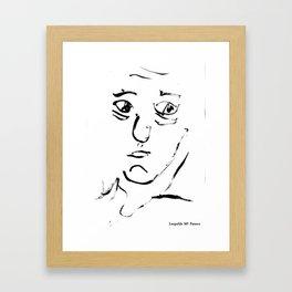 Leopoldo Maria Panero Framed Art Print