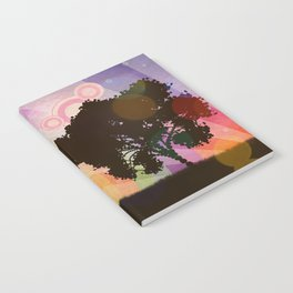 Freedom and rainbow Notebook