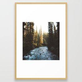 Johnston Canyon   Banff National Park, Alberta, Canada   John Hill Photography Framed Art Print