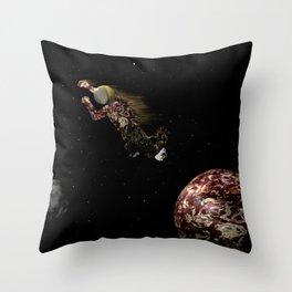 Spacewalk Dream #2 Throw Pillow