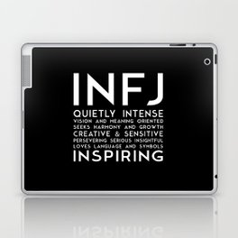 INFJ (black version) Laptop & iPad Skin