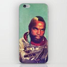 I ain't gettin on no rocket iPhone Skin
