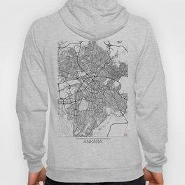 Ankara Map White Hoody
