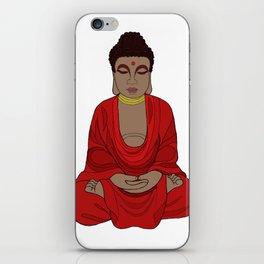 Meditating Buddha iPhone Skin