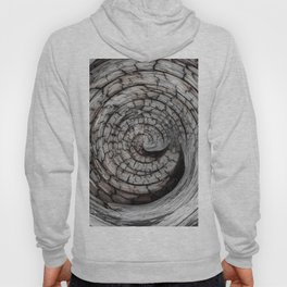 Spiralled Wood - Abstract Photography by Fluid Nature Hoody