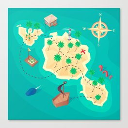Tahiti Treasure Canvas Print