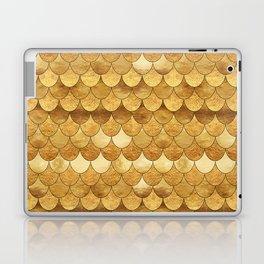Golden Scales Laptop & iPad Skin