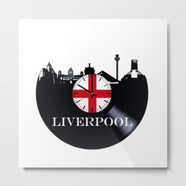 Liverpool City Metal Print