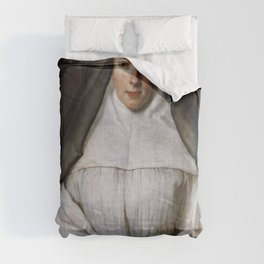 Nicolas de Largillire - Elizabeth Throckmorton, Canoness of the Order of the Dames Augustines Anglai Comforters