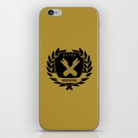 john green iPhone & iPod Skins featuring Nerdfighters DFTBA John, Hank Green by denise