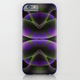 Fluid Thought Form Emotions #2 iPhone Case