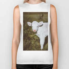 White Calf (Color) Biker Tank
