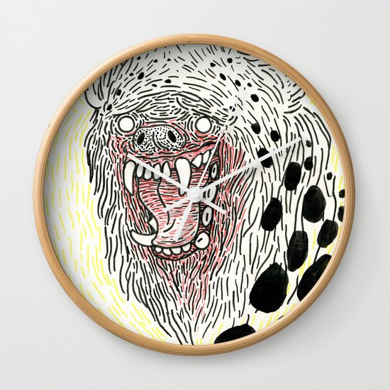 Monstrous and Free Wall Clock