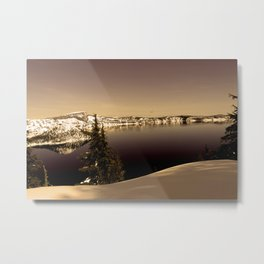 Wizard Island - Crater Lake Metal Print