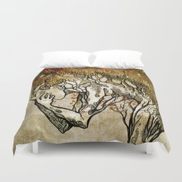 Crying Dryad Duvet Cover