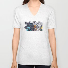 Power Duo Unisex V-Neck