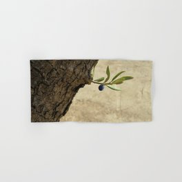 Olive branch Hand & Bath Towel