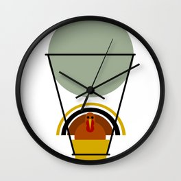 The Great Escape: By Air Wall Clock