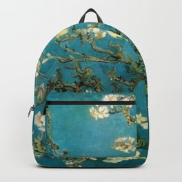 Almond Blossoms Vincent Painting Van Gogh Backpack