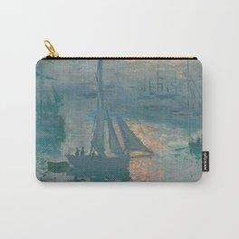 Claude Monet - Marine Sunrise, 1873 Carry-All Pouch