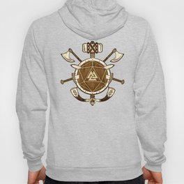 d20 Viking Warrior Hoody