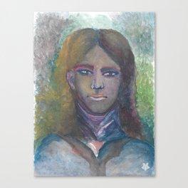 Rainbow Portrait Canvas Print