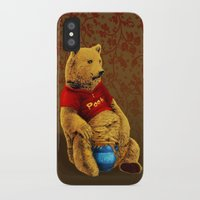 pooh iPhone & iPod Cases featuring Pooh by J ō v