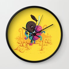 Kaiser Licorice III Wall Clock