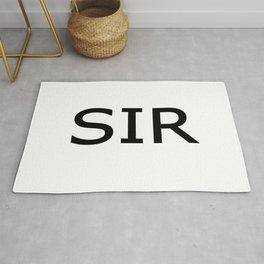 SIR Obsidian Rug
