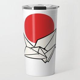 Japan Flag Crane Japanese Citizen Gift Travel Mug