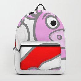 Christmassy Pig Backpack