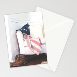 Patriotic Relaxation Stationery Cards