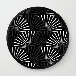Minimalistic Pattern Wall Clock
