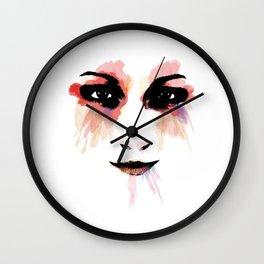 Looking to my eyes Wall Clock