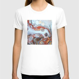 Animal Inspiration - Abstract Acrylic Art by Fluid Nature T-shirt