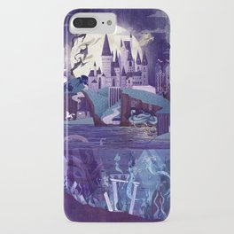 Never a Quiet Year at Hogwarts iPhone Case
