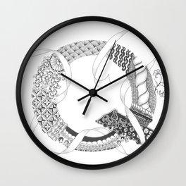 """Zenletter """"Q"""" Wall Clock"""