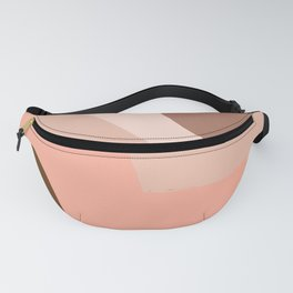 Woman and Desert - pastel vector minimalist #4 Fanny Pack