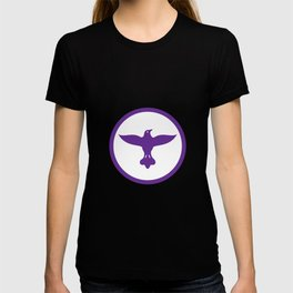Dove Spreading Wings Circle T-shirt