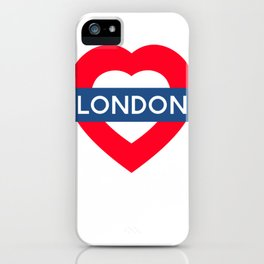 London Underground - Heart iPhone Case