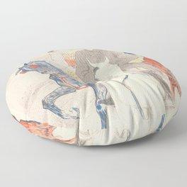 """Henri de Toulouse-Lautrec """"Napoleon"""" Floor Pillow"""