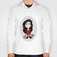 cartoon Hoodies featuring cartoon by Necla Karahalil