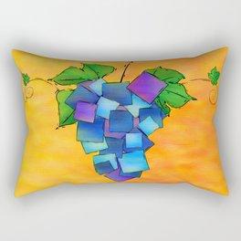 Jamurissa - square grapes Rectangular Pillow