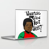 the strokes Laptop & iPad Skins featuring Diff'rent Strokes by DeMoose_Art