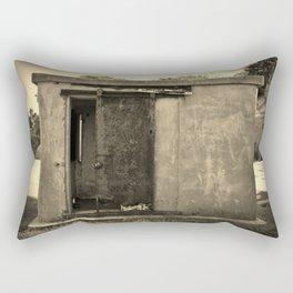 Old And Rusty Rectangular Pillow