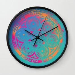 influence Wall Clock