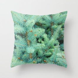 Thorns of Fir Throw Pillow